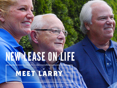 New Lease on Life - Meet Larry