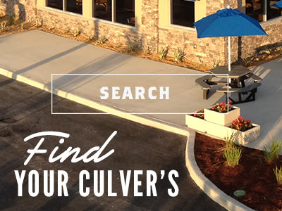 Find Your Culver's. Search