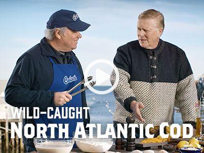 Wild-Caught North Atlantic Cod