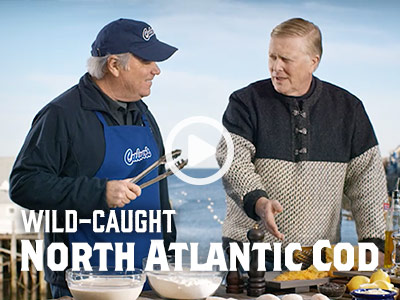 Video - Wild-Caught North Atlantic Cod