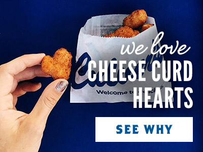 We Love Cheese Curd Hearts: See Why