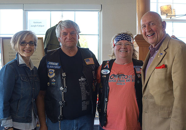 Air Force Veterans Meet at Culver's 43 Years After War