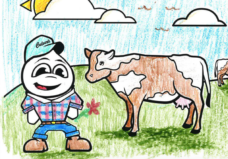 See the Winners of the 2019 Culver's Calendar Coloring Contest
