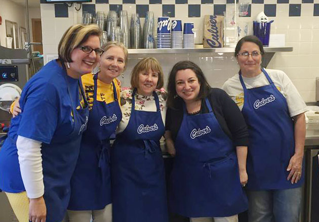 South Elementary School Has Fun Raising Funds at Culver's
