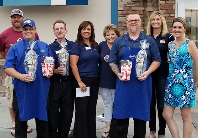 Franchise Owners with High School Staff