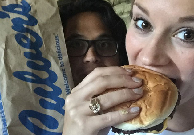 Culver's Plays a Special Part in Newlyweds' Relationship