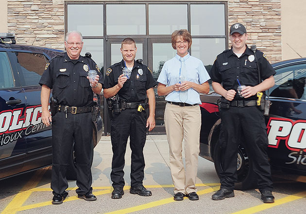 Culver's of Sioux Center Partners with Police to Reward Community Members