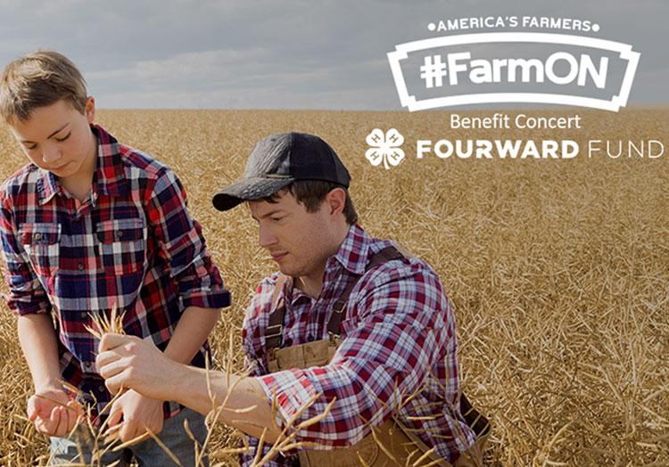 America's Farmers #FarmON Benefit Concert, FOURWARD Fund