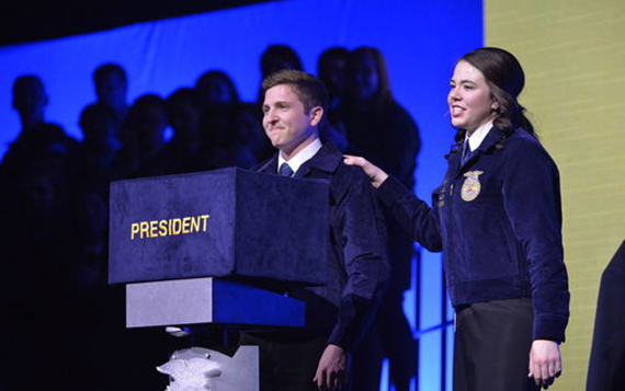 To Support FFA Is to Change a Life, According to National FFA President