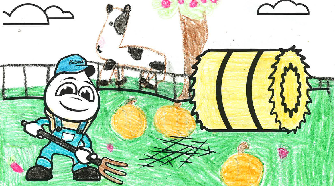 Kids Color Their Way Into the 2017 Culver's Calendar