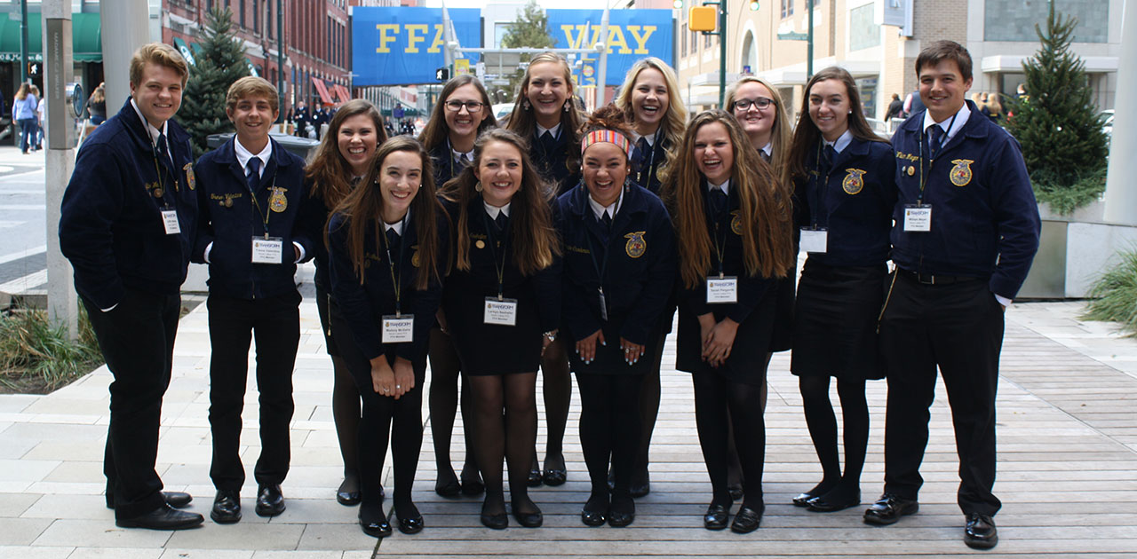 FFA members at the 2016 convention.