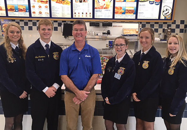 FFA Members Win Trips for Their Chapters to Indianapolis