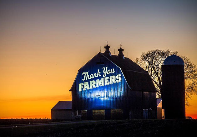 Big Blue Thank You: Our Favorite Thank You Farmers Project Blue Barn Photos