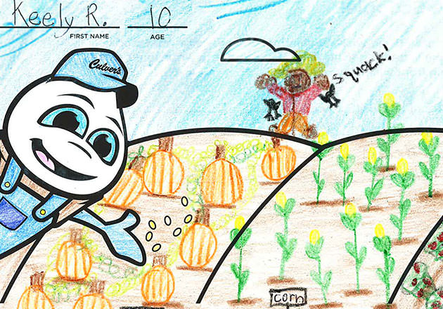 Culver's Pint-sized Picassos Get Creative for a Good Cause