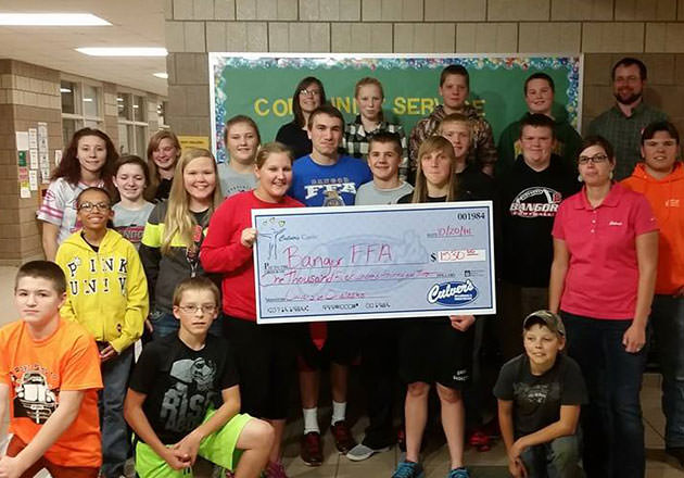 Culver's Donation Keeps FFA Chapter Going