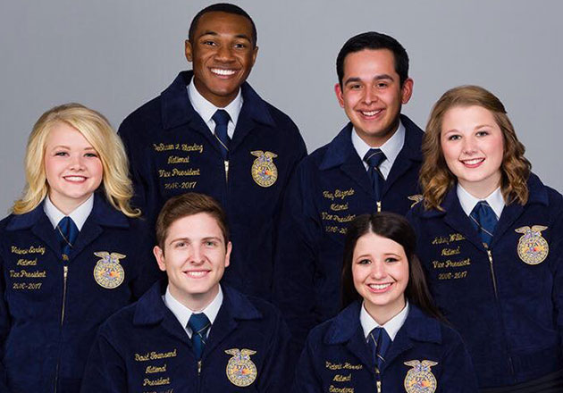 Meet the National FFA Officer Team, Our July 21, 2017, #FarmingFridays Feature