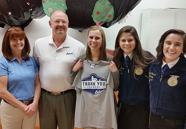 FFA Member Wins Big for Local Chapter