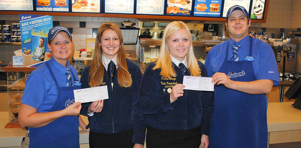 FFA Thankful for Culver's Support in America's Dairyland