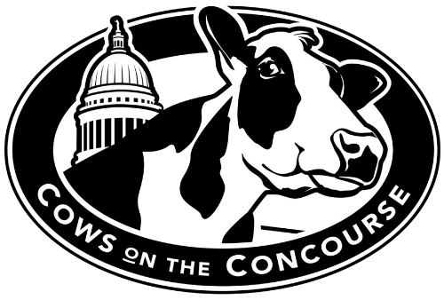 Cows on the Concourse is a family event in Madison, Wisconsin, that focuses on the role of the dairy industry in Wisconsin.