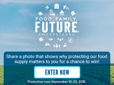 Food. Family. Future. Sweepstakes - Enter Now