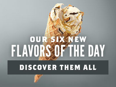 Our Six New Flavors of the Day