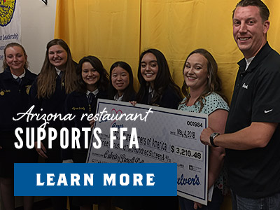 Arizona Restaurant Supports FFA